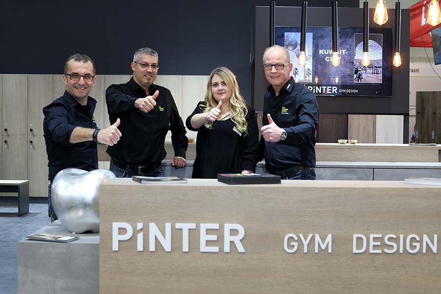 Pinter Gym Design - Fibo 2019 in Köln